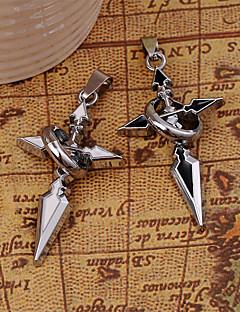 Silber Kreuz Legierung Anhänger für DIY Schmuck