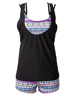 Womens Halter Three Pieces Boho Tribal Swimsuit(S-3XL)