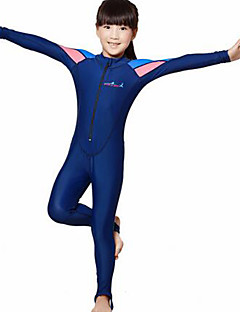 Dive&Sail לילדים 2mm חליפות רטובות Skins הצלילה חליפה רטובה מלאה עמיד אולטרה סגול דחיסה גוף מלא טאקטל חליפת צלילה שרוול ארוךחליפות צלילה