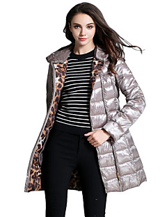 Damen Daunen Mantel - Einfach Langarm Andere