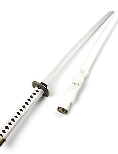 Weapon / Sword Inspirirana One Piece Roronoa Zoro Anime Cosplay Pribor Sword / Weapon Crvena Wood Male