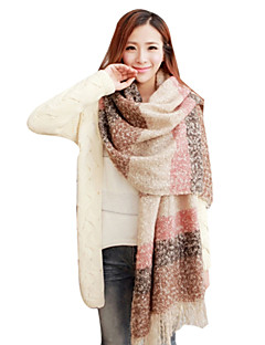 Women's Large Size Thicken Knitting Long Scarves