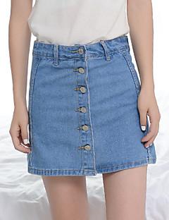 Enkel Shorts Byxor Kvinnors Microelastisk Bomull