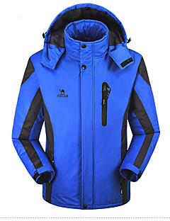 Pánské Standardní S vycpávkou Běžné/Denní Sportovní Velké velikosti Jednobarevné-Kabát Polyester Bez výplně Dlouhý rukáv