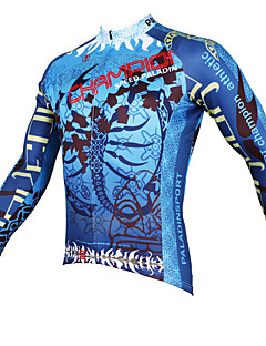 Sports Cycling Jersey Men's Long Sleeve Bike Breathable / Ultraviolet Resistant / Sweat-wicking Tops Coolmax Fashion Summer / Fall/Autumn