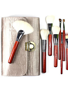 26 Makeup Brushes Set Goat Hair Full Coverage Wood Face ShangYang(Brush Package)