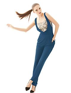 De joannekitten® vrouwen mode europa en amerika ventilator rechtstreeks overalls broek