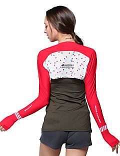 Blusas Mulheres Respirável Resistente Raios Ultravioleta Filtro Solar para Acampar e Caminhar Pesca Golfe Motoclicleta NUCKILY®