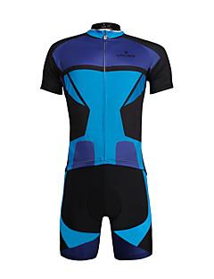 PALADIN® חולצת ג'רסי ומכנס קצר לרכיבה לגברים / יוניסקס שרוול קצר אופנייםנושם / ייבוש מהיר / עמיד אולטרה סגול / מפחית שפשופים / דחיסה /