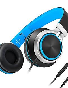 Kanen C8 Cascos(cinta)ForReproductor Media/Tablet / Teléfono Móvil / ComputadorWithCon Micrófono / Control de volumen