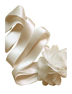 새틴 웨딩 / 파티/이브닝 / 일상복 창틀-꽃 여성 98 ½인치(250cm) 꽃
