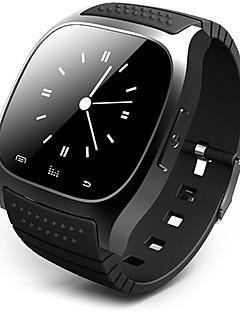 Pánské Chytré hodinky Digitální Dotykové Dálkové ovládání Kalendář poplach Krokoměr Měřidla pro fitness Stopky Pryž Kapela Cool Luxusní