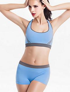 Yoga Ensemble de Vêtements/Tenus Respirable / Compression / Confortable Extensible Vêtements de sport Femme-Sportif,Yoga