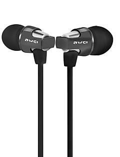 Awei ES860 Headphone Volume Control Noice Canceling Earphone