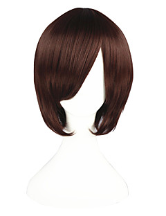 Cosplay Wigs The Prince of Tennis Bismarck Waldstein Brown Short / Straight Anime Cosplay Wigs 35 CM Heat Resistant Fiber Male / Female