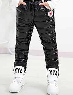 Children's Casual/Daily Solid PantsCotton Winter / Fall Black / Blue / Red