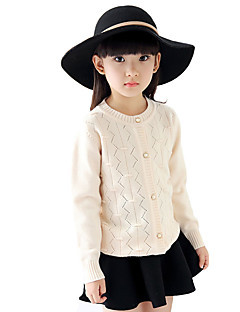 Girl's Casual/Daily Solid Sweater & CardiganWool Winter / Fall Blue / Pink / White