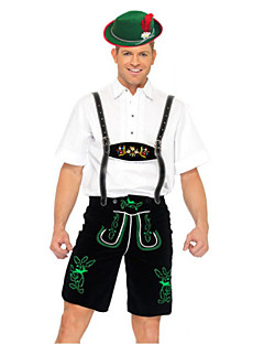 Costumes More Costumes Halloween White / Black Patchwork Terylene Top / Pants / More Accessories