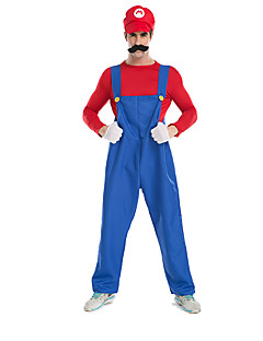 Costumes More Costumes Halloween Red / Blue Solid Terylene Top / Pants