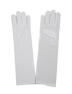 Gloves White Nonwoven Fabric Cosplay Accessories Halloween/Christmas/New Year