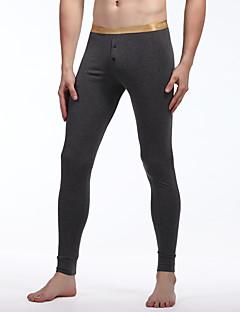 Men's Fashion Cotton Leggings Basic Warm Men Leggings