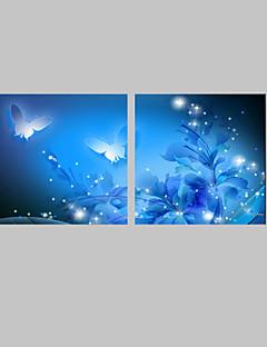 Animali / Fantasia Print Canvas Due pannelli Pronto da appendere , Quadrato