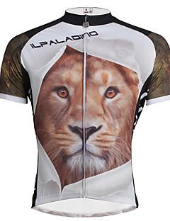 PALADIN® חולצת ג'רסי לרכיבה לגברים שרוול קצר אופנייםנושם / ייבוש מהיר / עמיד אולטרה סגול / דחיסה / חומרים קלים / רצועות מחזירי אור / כיס