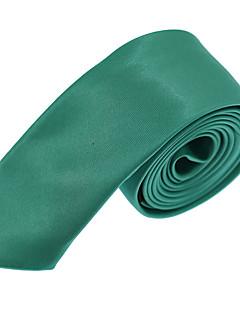 Men Formal Business Wedding Solid Color Tie Necktie Silk