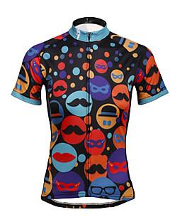 PALADIN® Camisa para Ciclismo Mulheres Manga Curta MotoRespirável / Secagem Rápida / Resistente Raios Ultravioleta / Reduz a Irritação /