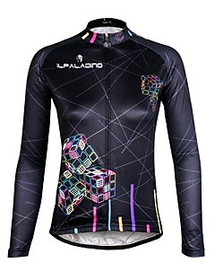 ILPALADINO Camisa para Ciclismo Mulheres Manga Longa Moto Camisa/Roupas Para Esporte Secagem Rápida Resistente Raios Ultravioleta
