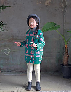 Girls' Casual/Daily Color Block Down & Cotton Padded,Others Winter Fall Long Sleeve