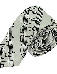 Herrer Slips,Vintage / Fest / Kontor / Fritid Polyester,Stripet Svart