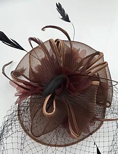 נשים נוצה רשת כיסוי ראש-חתונה אירוע מיוחד קז'ואל קישוטי שיער Birdcage Veils חלק 1