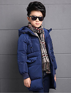 Boy's Casual/Daily Solid Down & Cotton PaddedCotton / Rayon Winter / Spring / Fall Blue / Green / Orange