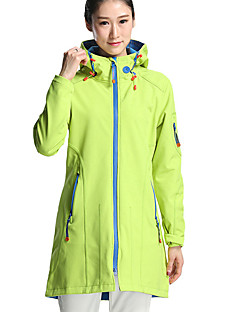 Hiking Softshell Jacket Women's Waterproof / Breathable / Thermal / Warm / Windproof / Wearable  Tactel