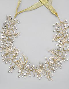Women's Rhinestone / Crystal / Imitation Pearl Headpiece-Wedding / Special Occasion Headbands 1 Piece