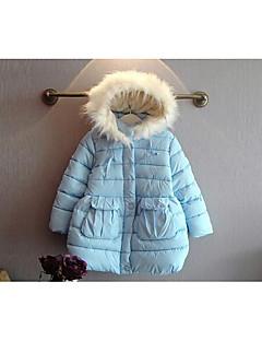 Dívka je Běžné/Denní Jednobarevné Zima S podšívkou Bavlna / Polyester Modrá / Růžová