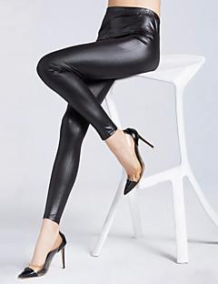 Sexy-PU-Micro-elastisch-Skinny-Broek-Vrouwen