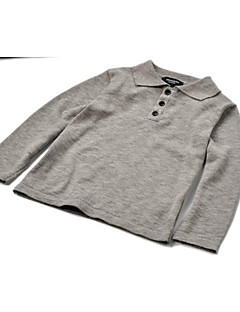 Casual/Daily Solid Sweater & Cardigan,Cotton All Seasons Long Sleeve