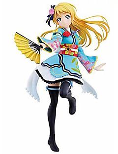 Love Live Eri Ayase PVC 15cm Anime Action Figures Model Toys Doll Toy 1pc