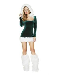 Cosplay Kostuums Groen Textiel Binnenwerk Cosplay Accessoires Kerstmis / Carnaval