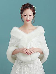 Estolas Femininas Mini Capa Cashmere imitação Casamento Festa Padrão Estampado Animal