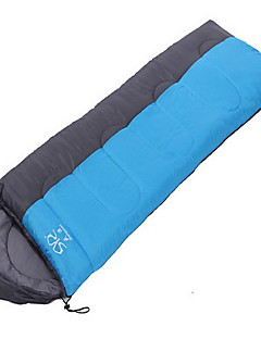 Sleeping Bag Rectangular Bag Single 20 T/C Cotton 1800g 210X80 Camping / TravelingMoistureproof/Moisture Permeability / Breathability /