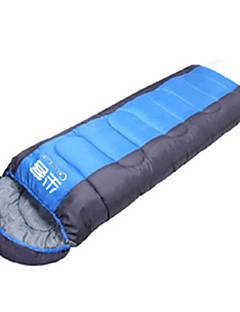 שק שינה שק שינה מלבני יחיד 10 פלומת ברווזX100 קמפינג לטייל בתוך הבית מאוורר היטב עמיד למים נייד עמיד מוגן מגשם מתקפל אטום