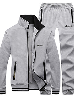 Women's Men's Long Sleeve Running Tracksuit Clothing Sets/Suits Thermal / Warm Fleece Lining Soft Comfortable Winter Sports Wear