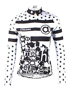 ILPALADINO Cykeltrøje Dame Langærmet Cykel Trøje Hurtigtørrende Ultraviolet Resistent Åndbart Komprimering letvægtsmateriale Refleksbånd