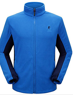 Hiking Softshell Jacket / Windbreakers / Tops Men's Waterproof / Breathable / Thermal / Warm / Windproof / WearableSpring / Fall/Autumn /
