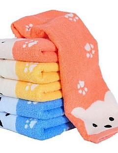 6stk høj kvalitet bomuld ansigt håndklæde fingerspids håndklæde bathtowel