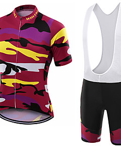 WOLFKEI Summer Cycling Jersey Short Sleeves BIB Shorts Ropa Ciclismo Cycling Clothing Suits #06