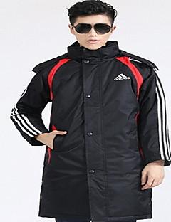 Trilha Blusas Homens Mantenha Quente / A Prova de Vento / Confortável Inverno Algodão Vermelho / Preto L / XL / XXL / XXXL Corrida